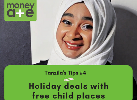 Tanzila's Tip: holiday deals with free child places