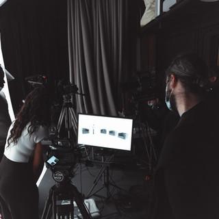 Studio filming  Photography by Zahid Parkhetiya