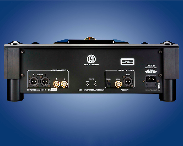 CD Player mbl 1531 A6