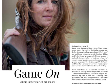 Huge thanks to Living North magazine for the opportunity to promote the health benefits of game ...