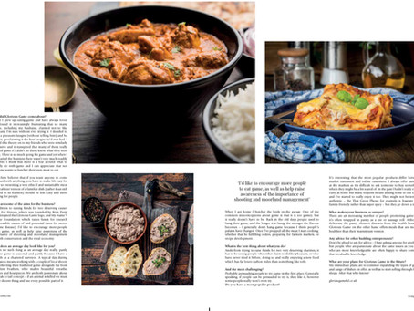 Huge thanks to Living North mag for the opportunity to promote the health benefits of game (part 2)