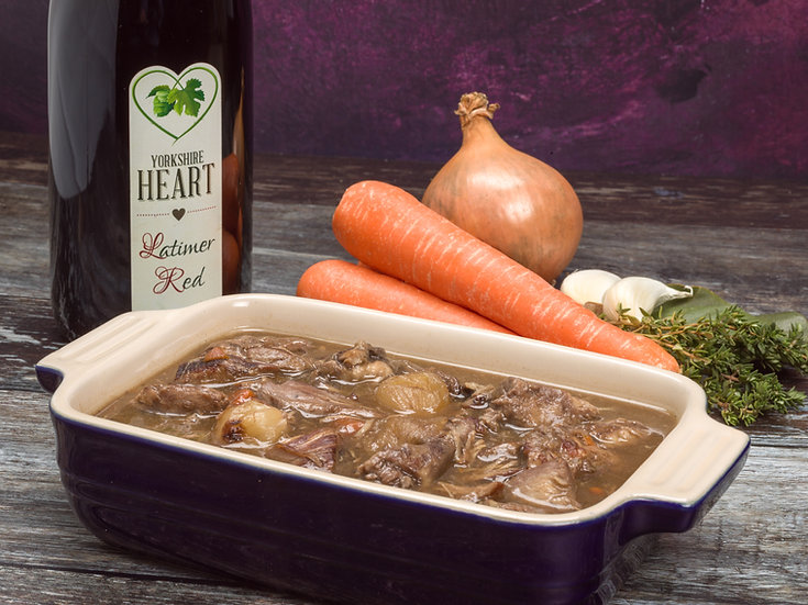 Coq au Vin with Yorkshire Heart Wine (Double Portion 600g)