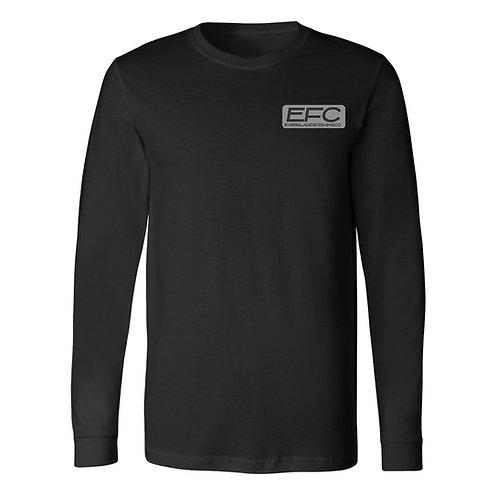 Tri- Blend Long Sleeve Charcoal Shirt