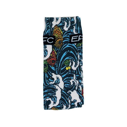 Fish and Waves Socks