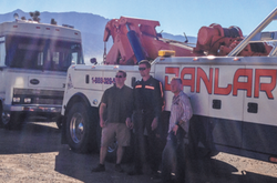 Heroes, towing company partner to deliver RV to vetera. HWAU Does it again.