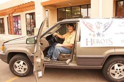 We helped this veteran