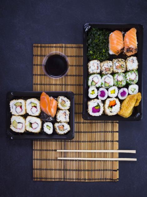Potes para Sushi