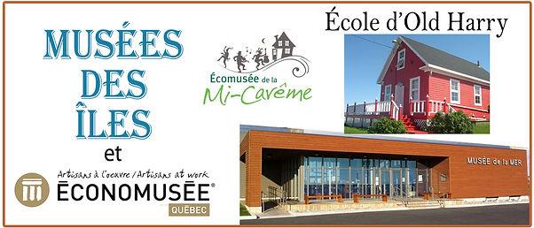 Musées et économusées, Îles-de-la-Madeleine