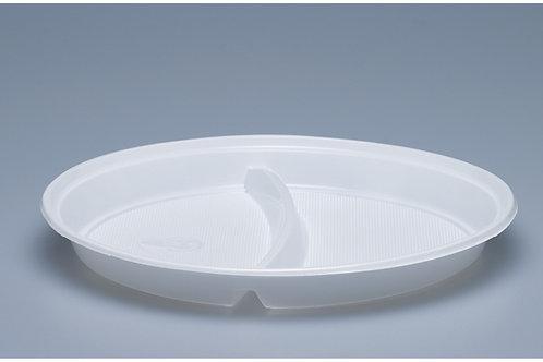 Menuteller PP, weiss, 1000 Stk. 21.9 cm