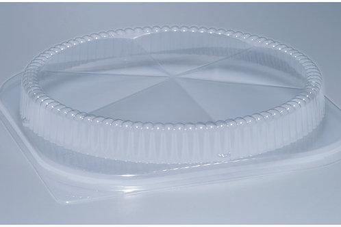 Deckel PS, glasklar, 200 Stk. 22 cm