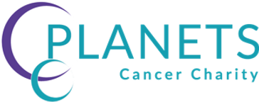 Planets Cancer Charity Logo