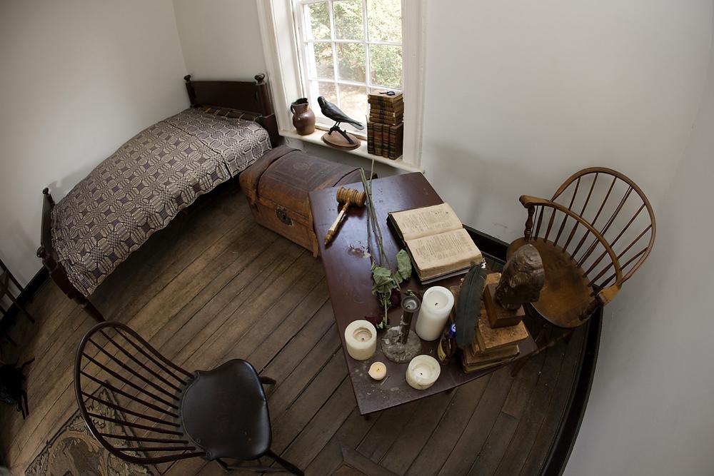 Edgar Allan Poe's room No. 13 at University of Virginia