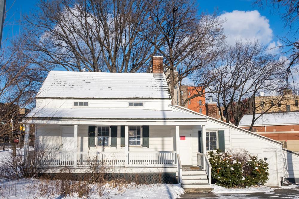 Edgar Allan Poe's cottage in New York (