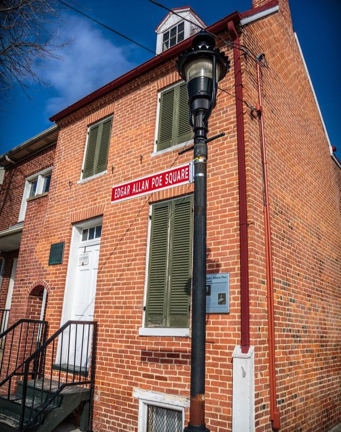 Edgar Allan Poe's home/museum, Baltimore