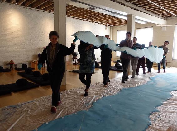 Brooklyn Zen Center Installation
