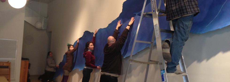 Brooklyn Zen Center show installation