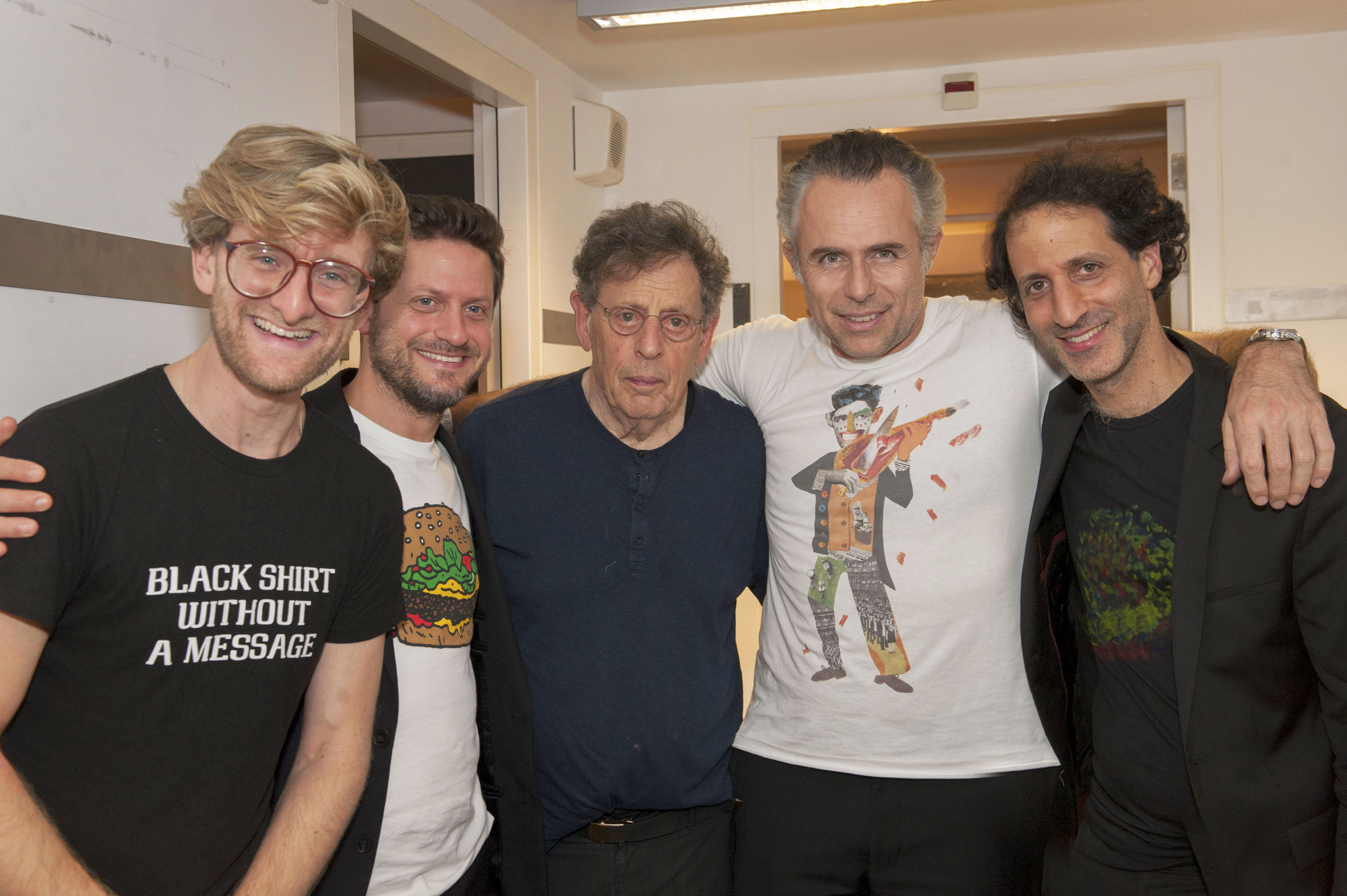 Alma Quartet & Philip Glass
