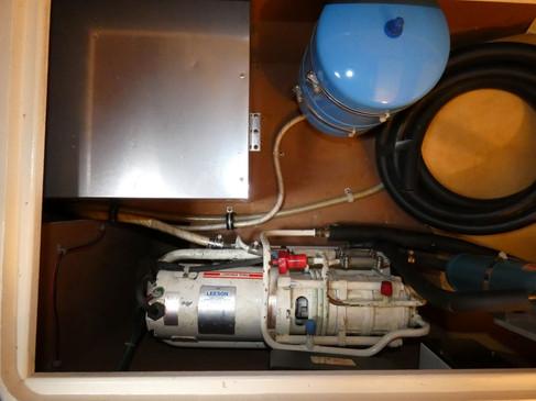 Fridge Pump, Water Heater, Expansion tan