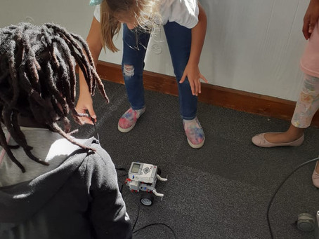 Igniting the intelligence, inborn in every child with #robotics @ AYI