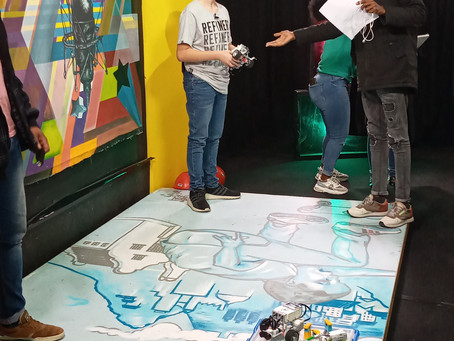 Catch our young innovators talking about their robots on Cape Town tv