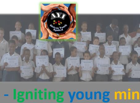AYI4ir Awarding certificates for Hour of Code!
