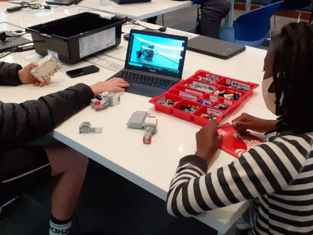 Our young innovators at the American Spaces Cape Town