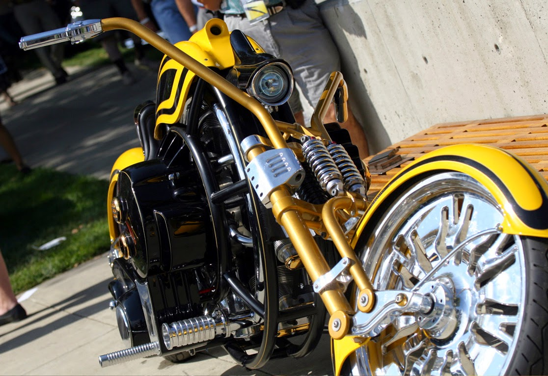 2007 Dreamcraft Gatsby 7-cylinder radial engine motorcycle