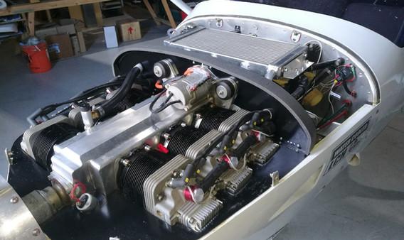 Engine snug in baffes