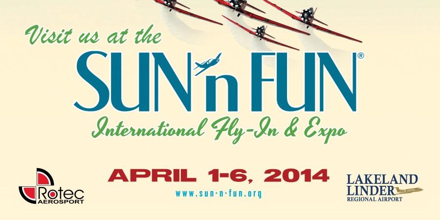Sun n Fun Banner 2014