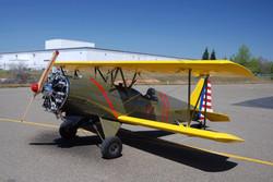 Jim Teel EAA biplane R2800