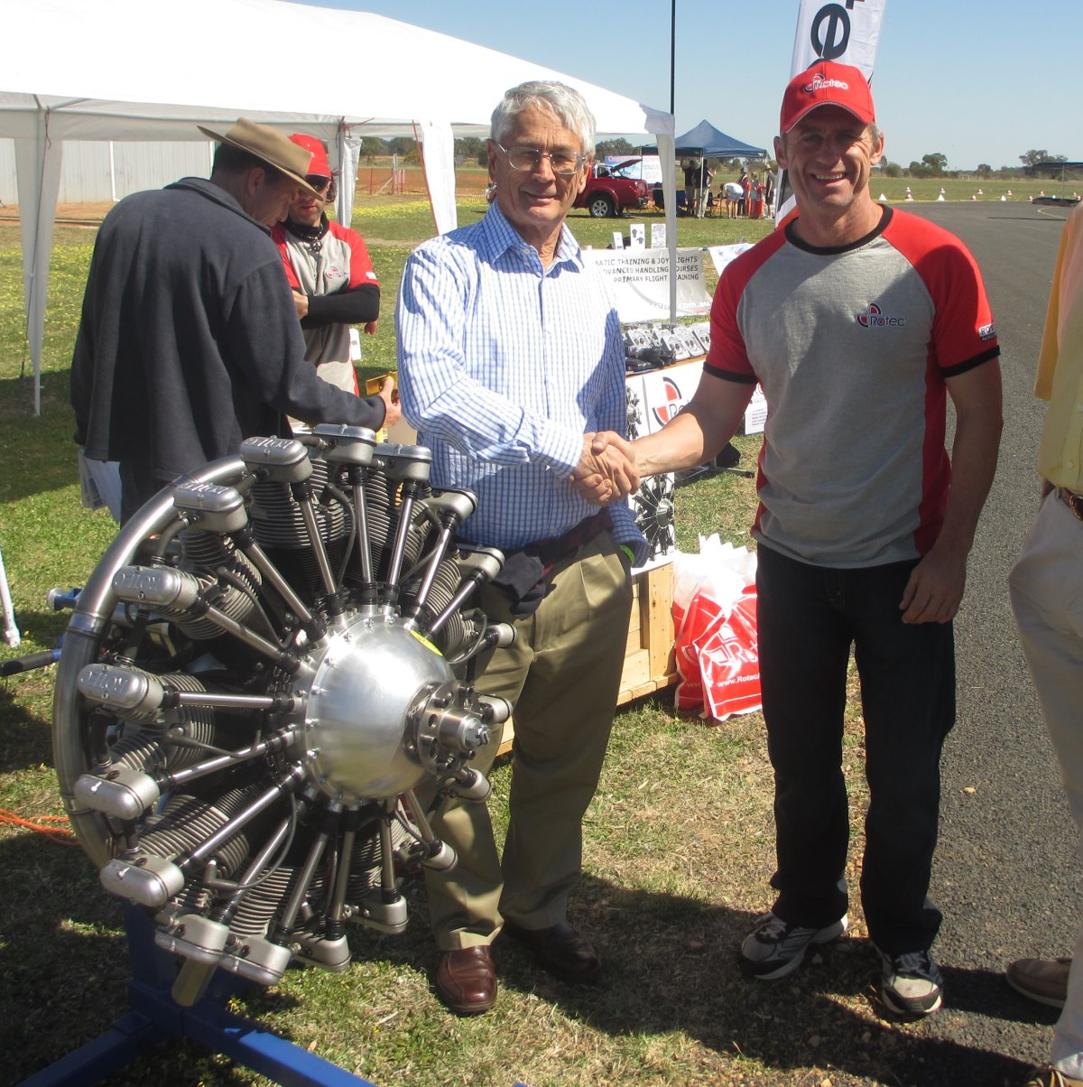 Dick Smith and Paul Shake on it 09-2013