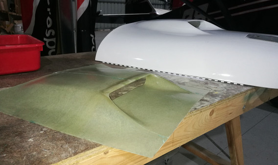 Fisrt scoop pulled from new mold