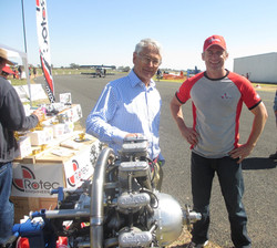 Dick Smith and Paul Chernikeeff 15-09-2013
