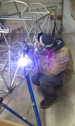 Mike Sailing Welding