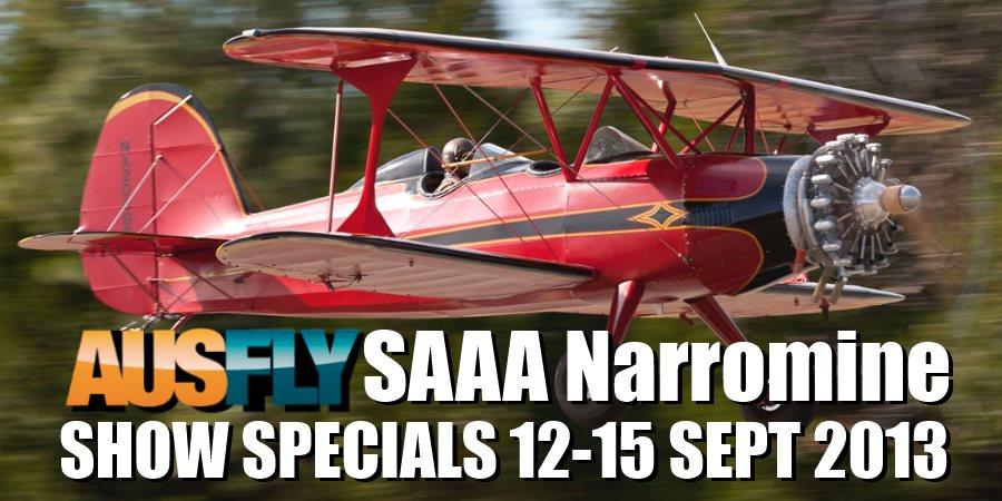 AUSFLY SAAA Narromine show specials 2013
