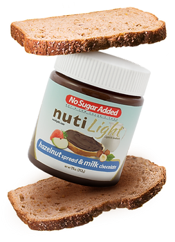 Nutilight Hazelnut spread Milk Chocolate.png