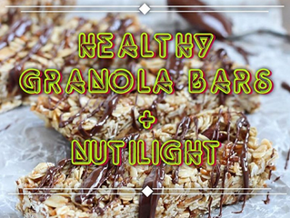 NUTILIGHT GRANOLA BARS