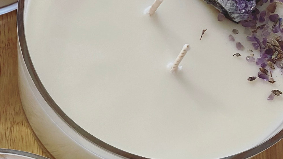 XL Full Moon Candle ~ Tranquility ~