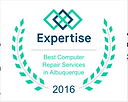 2016 Expertise award for Best Computer Repair Services in Albquuerque
