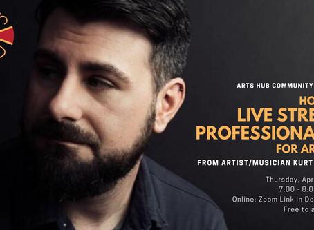 How To Live Stream Professionally