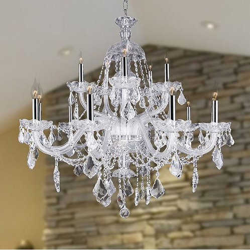 The Provence by World Wide 15 light Crystal Fixture