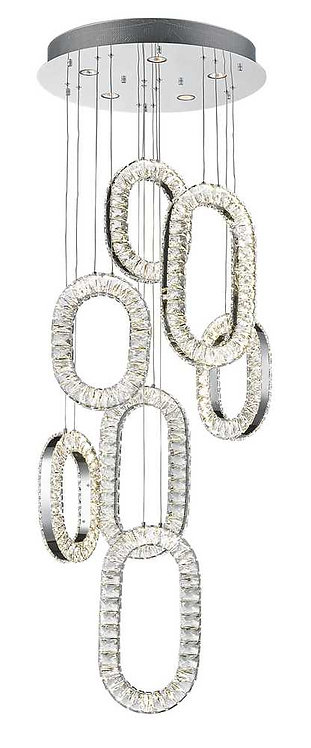 Olympia LED Crystal Chandelier