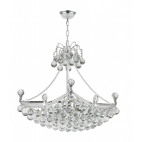 Empire 6 light crystal Chandelier W83025C28