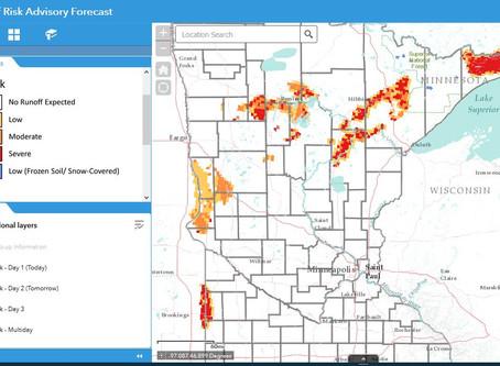 MN Runoff Risk Advisory Forecast (RRAF)