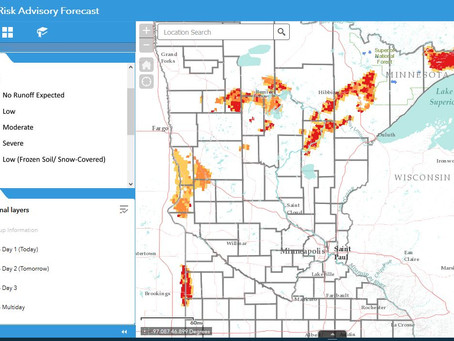 MN Runoff Risk Advisory Forecast (RRAF)