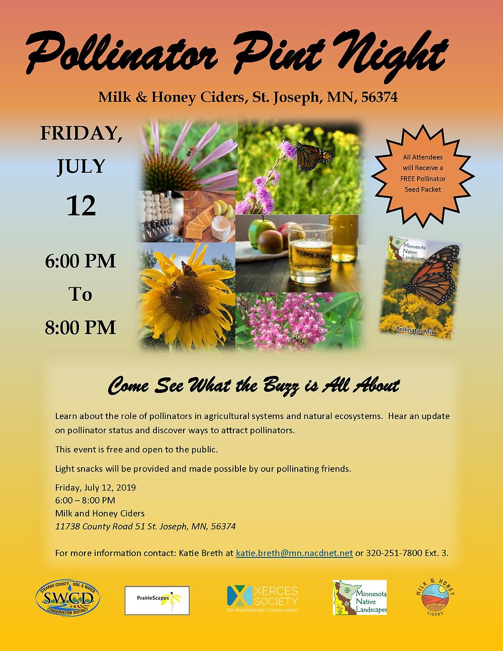 Pollinator Pint Night Flier