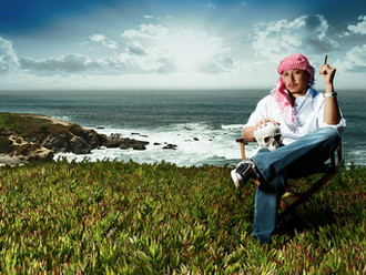 Teddy Gyi - The Director Photoshoot