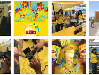 Stayin' cool with Lipton this summer