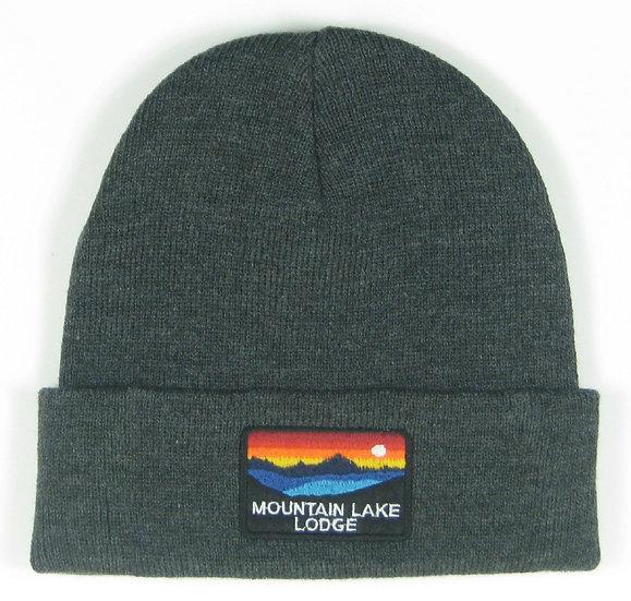 Mountain Lake Lodge Horizon Cuff Beanie