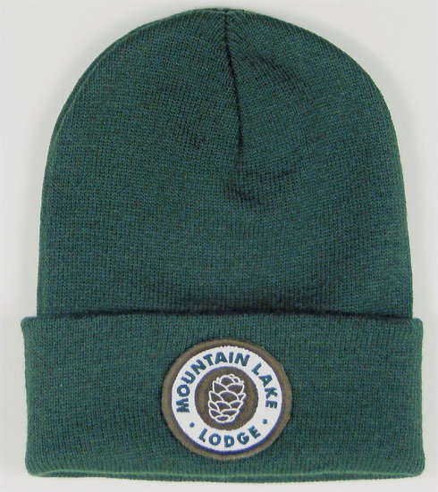 Mountain Lake Lodge Cuff Beanie